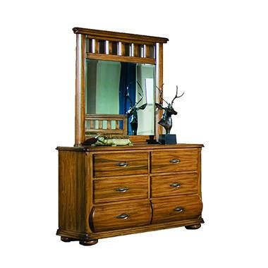 Ridgeland Dresser and Mirror