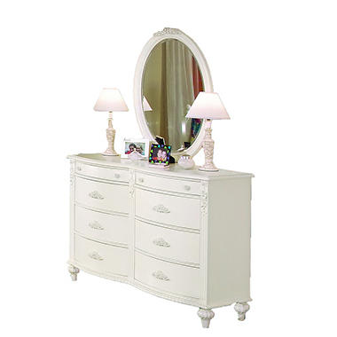 Holly Dresser and Mirror