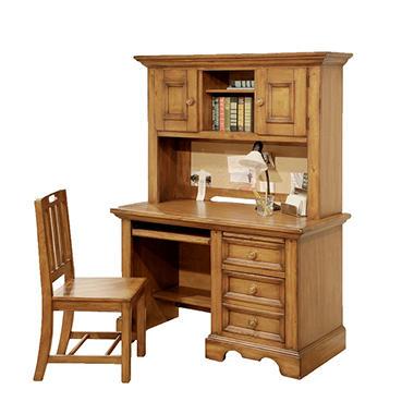 McAllister Desk, Hutch and Chair