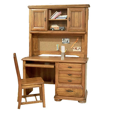 Ridgeland Desk, Hutch and Chair