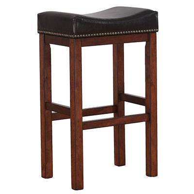 Travis Saddle Seat Counter Stool