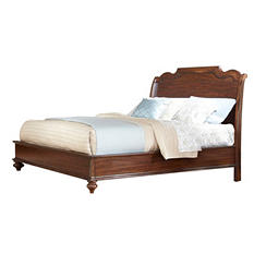 Saddle Creek Sleigh Bed (Assorted Sizes)