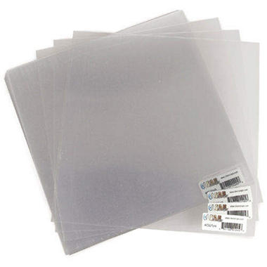 "Acrylic Sheets 12""X12"" 25/Pkg - Clear"