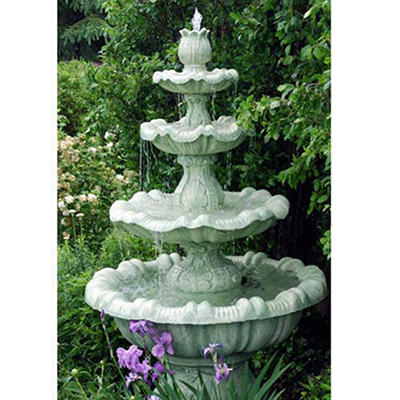 Large Mediterranean Four Tier Fountain
