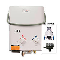 Eccotemp L5 Tankless Water Heater with Flojet Pump & Strainer