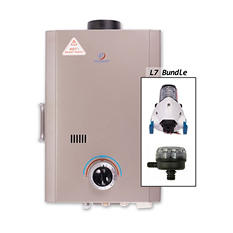 Eccotemp L7 Tankless Water Heater with Flojet Pump & Strainer