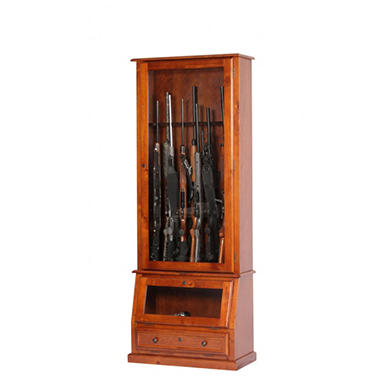 12-Gun Slanted Base Cabinet.