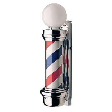 Marvy Outdoor Traditional Two-Light Barber Pole