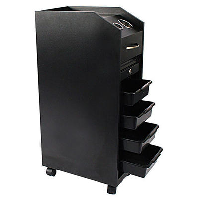 Salon Lockable Rolling Cart