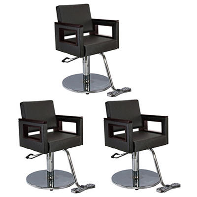Barber chairs sam 39 s club for Modern salon furniture packages