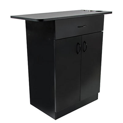 Keller Styling Station Cabinet Desk