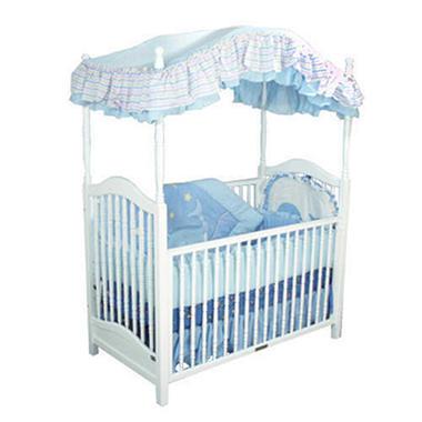 Canopy crib white sam 39 s club for White canopy crib