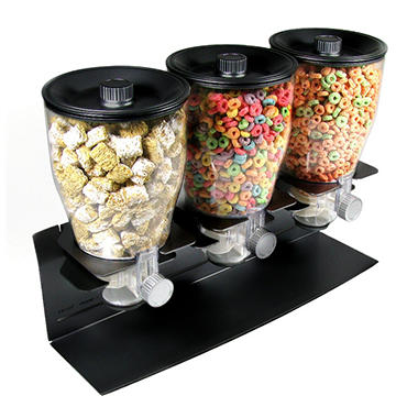 Zevro� Commercial Dispenser for Dry Food/Cereal - 17.5 oz.