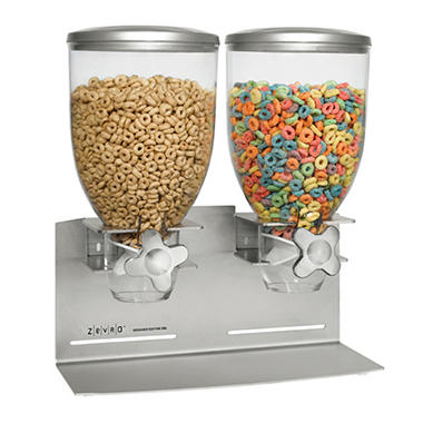 Zevro® Indispensable™ Stainless Steel Dispenser for Dry Food/Cereal - 17.5 oz.