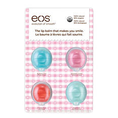 eos Smooth Sphere Lip Balm, Variety Pack (4 ct.)