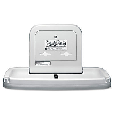 Koala Kare - Horizontal Baby Changing Station, 35 3/16 x 22 1/4 -  Cream
