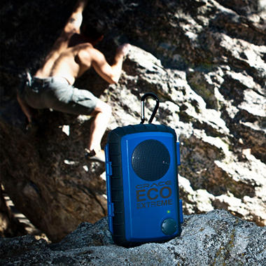 Grace Digital Eco Extreme Rugged Waterproof Case w/ Built in Speaker for iPod/iPhone