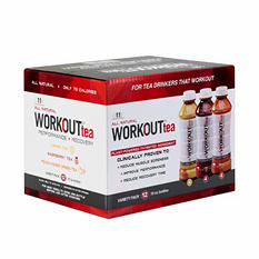 WORKOUT tea Variety Pack (16 oz. bottles, 12 ct.)