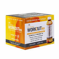 WORKOUT tea Lemon (16 oz. bottles, 12 ct.)