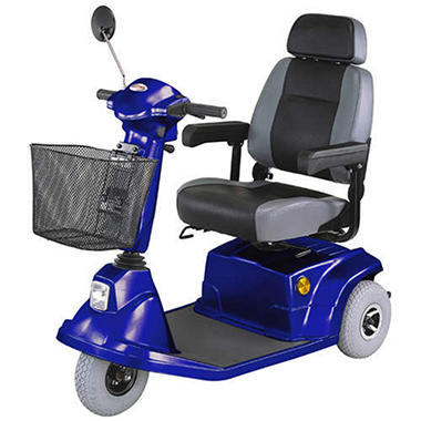 HS-570 Mid-Range 3 Wheel Scooter - Various Colors