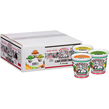 Repicci's Real Italian Ice Variety Pack - 8 oz. - 9 pk.