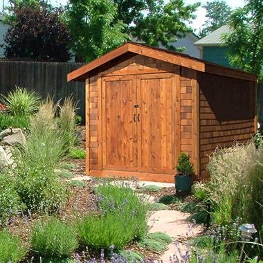 8' x 12' Aspen Cedar Shed Kit