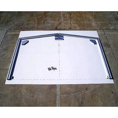 "ABSCO Snow Kit 10' Wide x 90"" Peak (Highlander Series)"