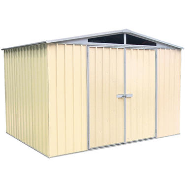 ABSCO DayLite 10 x 7 Garden Shed - Classic Cream