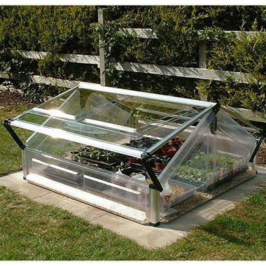 Cold Frame Double - Miniature Greenhouse