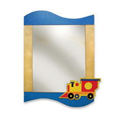 Room Magic Boys Like Trucks Wall Mirror