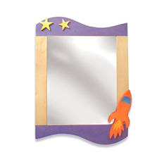 Star Rocket Wall Mirror