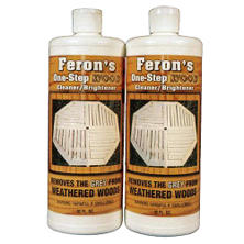 Feron's Wood Cleaner/Brightener - 2 quarts
