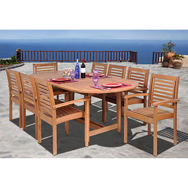 Grand Rio Outdoor/Indoor Dining Set - 9 pc.