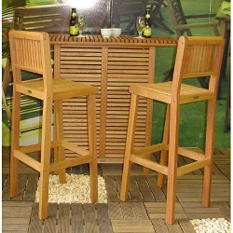 Brazil Bar Set - 3 pc.