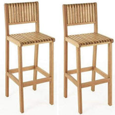 Brazil Outdoor Bar Stools - 2 pk.