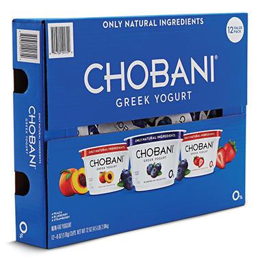 Chobani® Yogurt Variety Pack - 6 oz. - 12 ct.