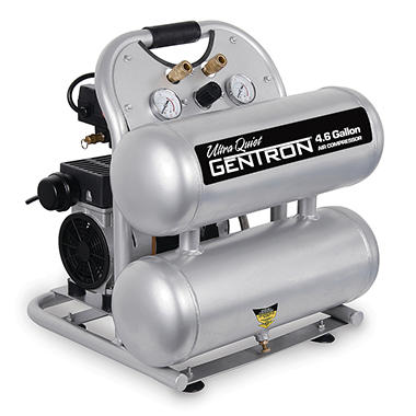 Gentron� 4.6 Gallon Compressor Ultra Quiet