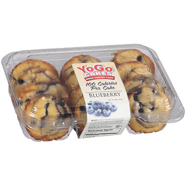 YoGo™ Cakes Blueberry Greek Yogurt Cake™ - 18 oz.