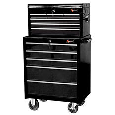 "Excel Tool Box - 26"" Top Chest and Roller Cabinet Combination"