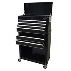 "Excel 24"" Top Chest and Roller Cabinet Combo - Multiple Colors"