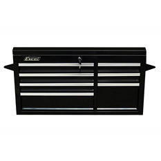 "Excel Black Steel Tool Chest 41.4"" W x 17.5"" D x 21.7"" H"