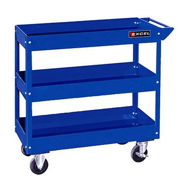 Excel - Steel Tray Tool Cart