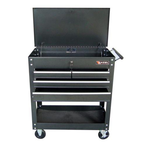 Excel TC400 Steel Tool Cart