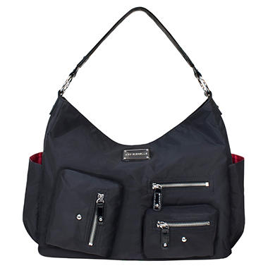 Lotus Diaper Bag - Black