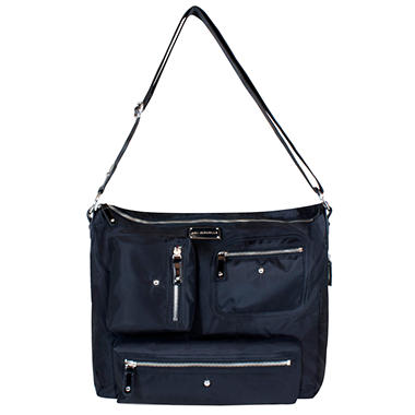 Iris Diaper Bag - Black