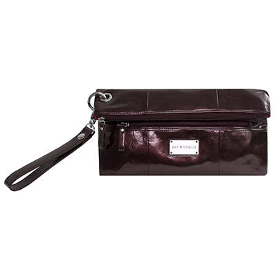 Amy Michelle Poppy Clutch, Chocolate