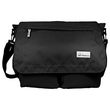 Amy Michelle Seattle Diaper Bag, Black