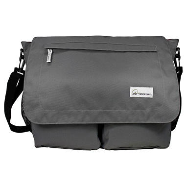 Amy Michelle Seattle Diaper Bag, Charcoal