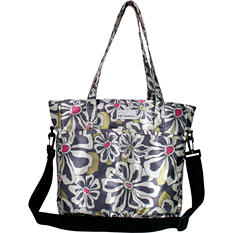 Amy Michelle New Orleans Diaper Bag, Charcoal