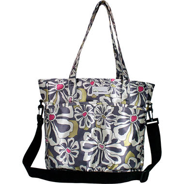 New Orleans Diaper Bag - Charcoal